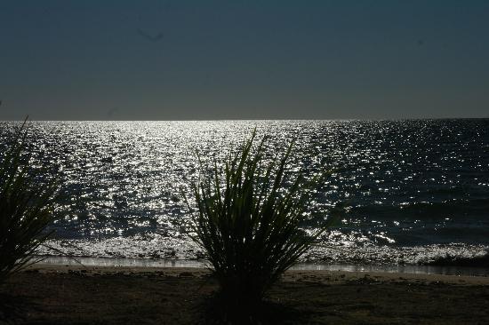Amporaha Resort: la plage