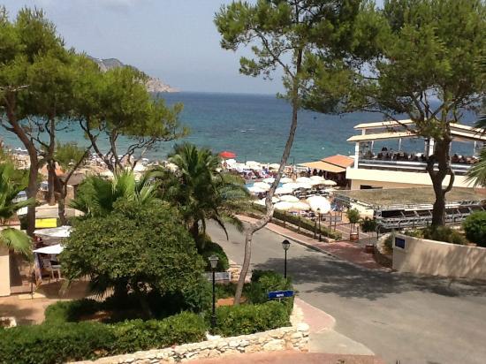 Invisa Hotel Club Cala Blanca: Panorama dalla camera 1111