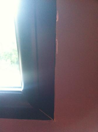 Hotel Disini : fenêtre de la chambre Deluxe