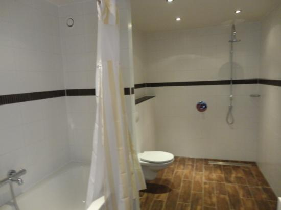 Hilton Garden Inn Leiden : shower
