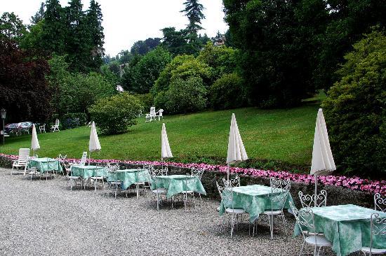 Hotel du Parc: Hotelgarten