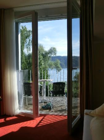 Bodenseehotel Immengarten: Aussicht aus unserem Zimmer Richtung See