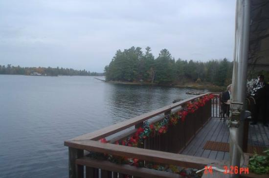 Irwin Inn: View from the deck