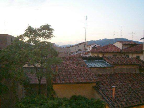 Hotel Ascot Florence : vistas desde la habitación