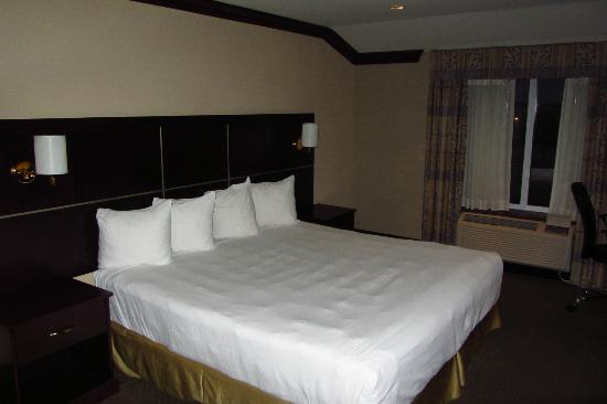 Woodbine Hotel & Suites: Bed