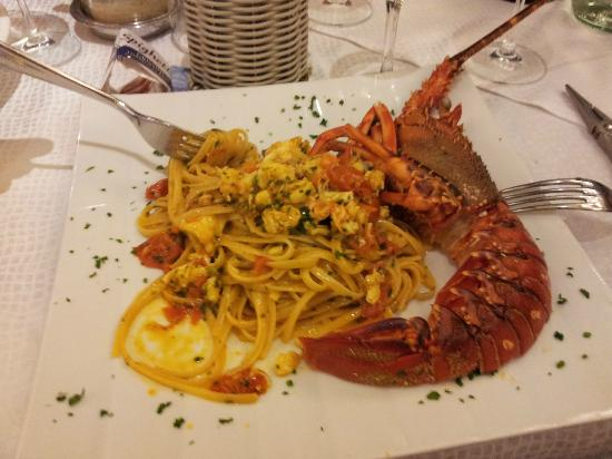 La Cambusa : linguine all'aragosta