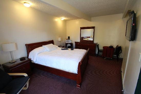 Park Plaza Lodge Hotel: Grande chambre tout confort