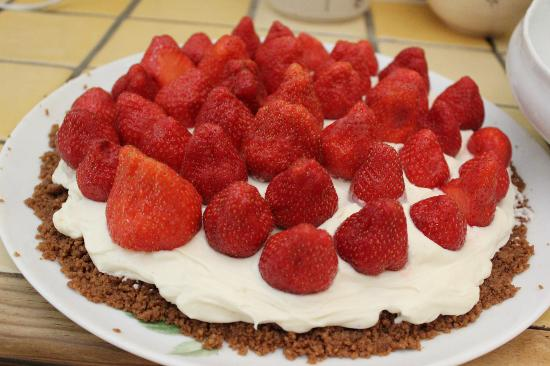 Cooking and Art de Vivre in Provence : Delicious Mascarpone Tart