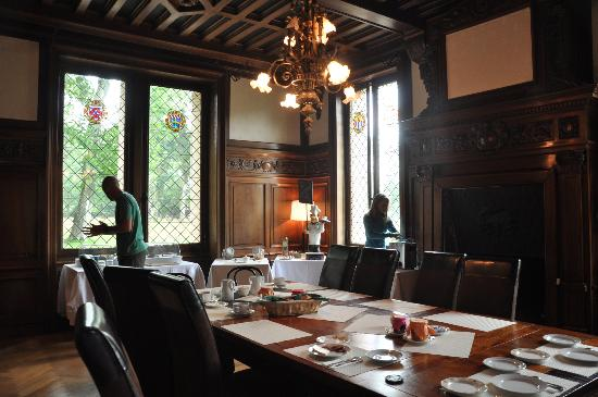 dining room picture of chateau belle epoque linxe tripadvisor. Black Bedroom Furniture Sets. Home Design Ideas