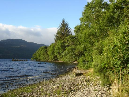 Tigh Na Bruach: View of Loch Ness