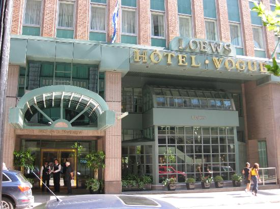 Loews Hotel Vogue: Front of Hotel