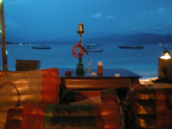 Blue Marlin Dive Gili Trawangan: Resto y relajación con una excelente vista