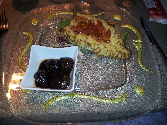 Ristorante Al Burgo: Orata in crosta di patate e pomodorini