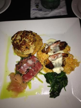 Reilley's Grill and Bar: my seafood trio
