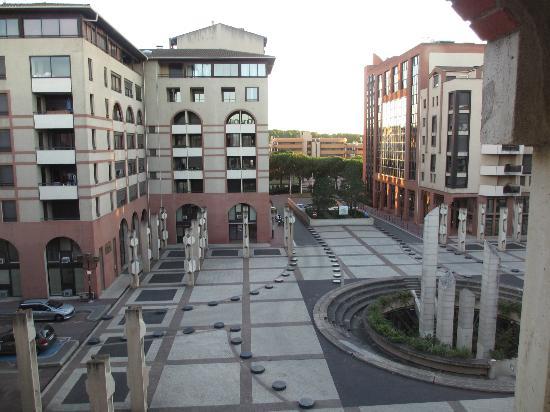 Novotel Toulouse Centre Compans Caffarelli: 部屋からのながめ