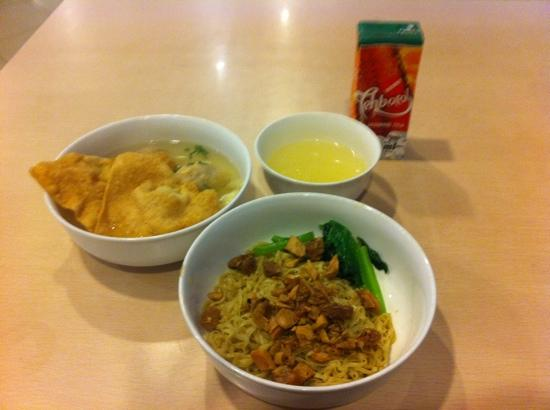 Bakmi GM : the food I ordered