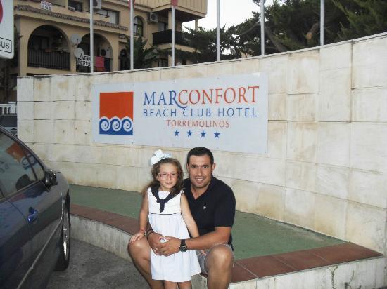 Marconfort Beach Club Hotel: CON MI PEQUEÑA