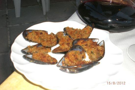 Pepe Nero: cozze gratinate