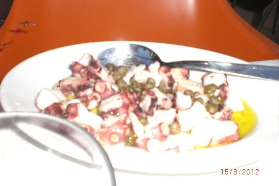 Pepe Nero: insalata di polipo