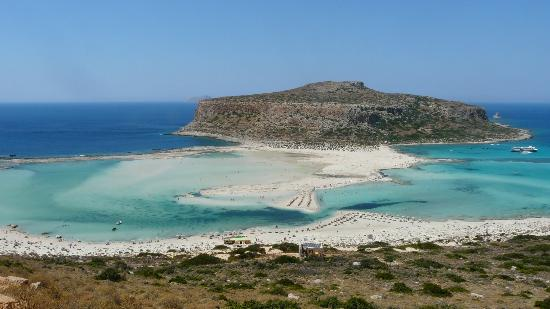 Balos Beach and Lagoon: Laguna blu
