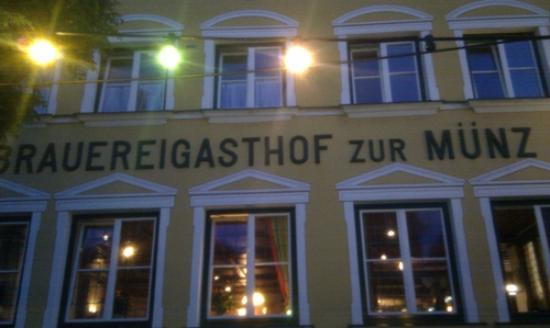 Brauereigasthof Zur Muenz Gunzburg Restaurant Avis Numéro De