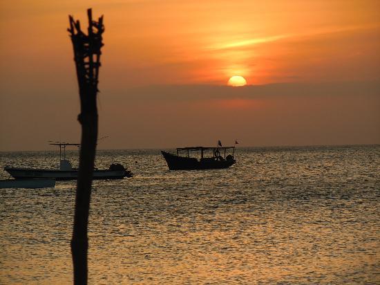 Zanzibar Watersports: view from Kendwa beach where Zanzibar water sports have a base