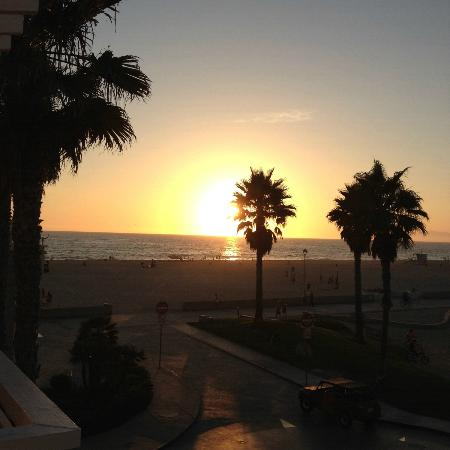 Beach House Hotel Hermosa Beach: Sunset
