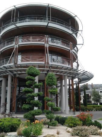 Hotel Parc Beaumont : l'entree du l'hotel
