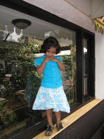 The Tall Trees Munnar: My kid enjoyed the ambiance of the restaurant