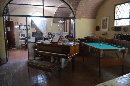 Agriturismo San Fabiano: Piano in common area