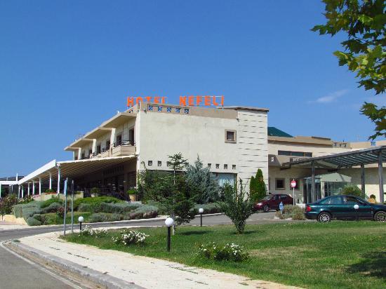 Hotel Nefeli: hotel entry