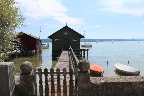 Herrsching am Ammersee, Germany: Steg in Schondorf
