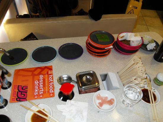 Yo Sushi: Those little plates add up!