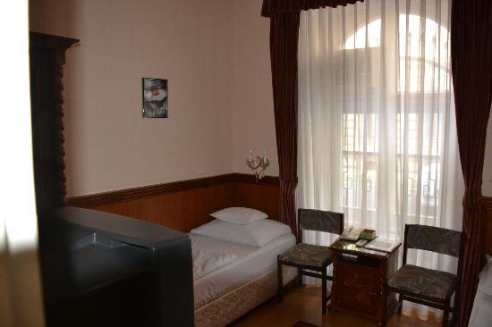 Hotel Tisza: Das dürfte ein ehemaliges Dienerzimmer gewesen sein