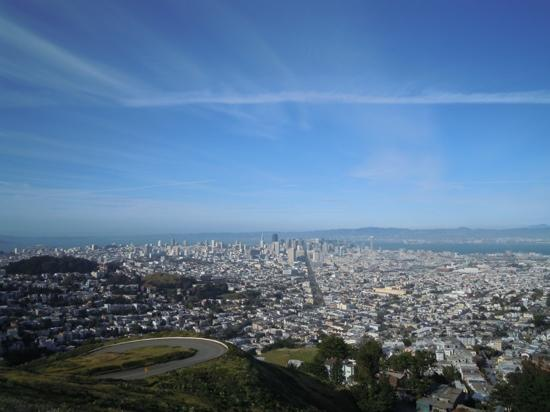 Scenic 49 Mile Drive: view from Twin Peaks