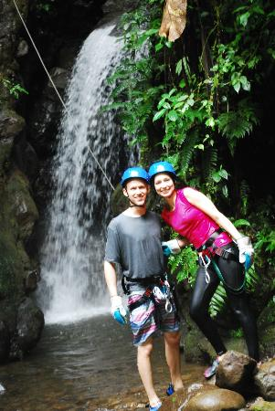 Adventuras Turisticas Zamar 2000 Day Tours: La Roca Canyoning tour!