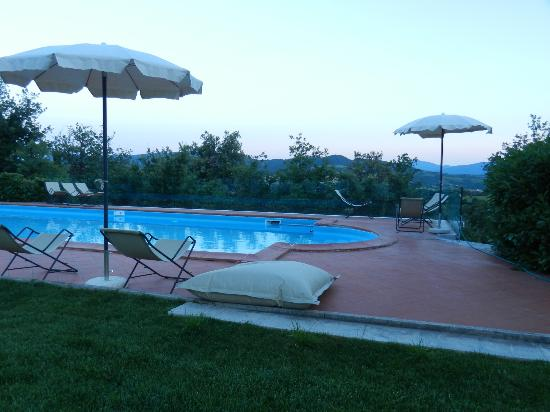 Hotel Terre di Casole: The pool