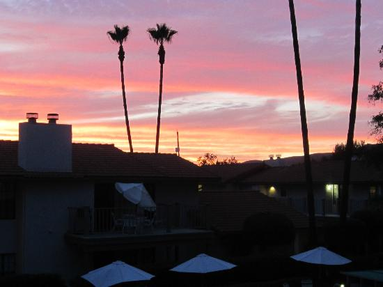 Riviera Oaks Resorts: Sunset - after most starry sky I've ever seen!