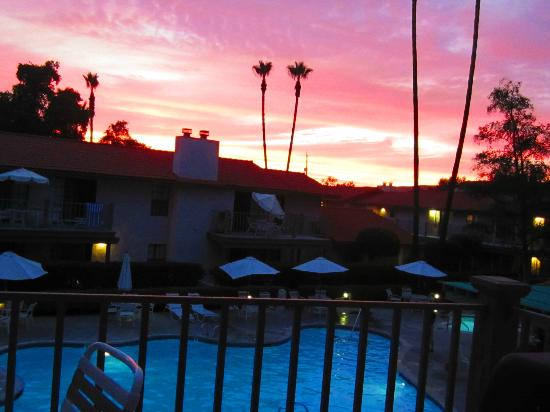 Riviera Oaks Resorts: Sunset from our balcony.