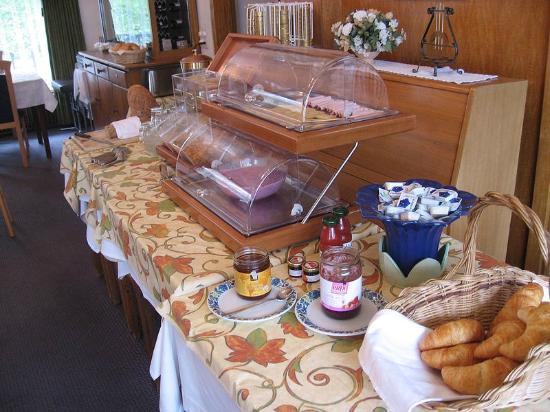 Hotel Alpina: Breakfast