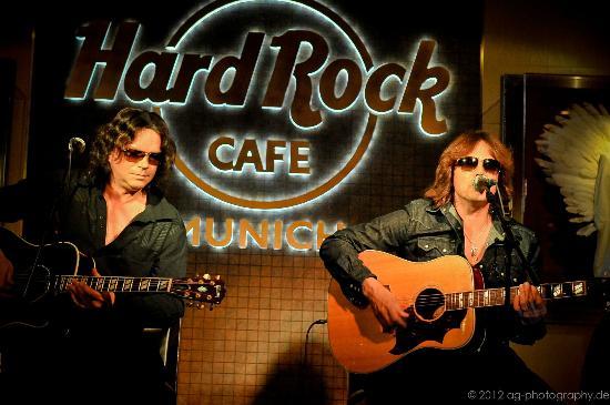 "Hard Rock Cafe München: Konzert ""Europe"""