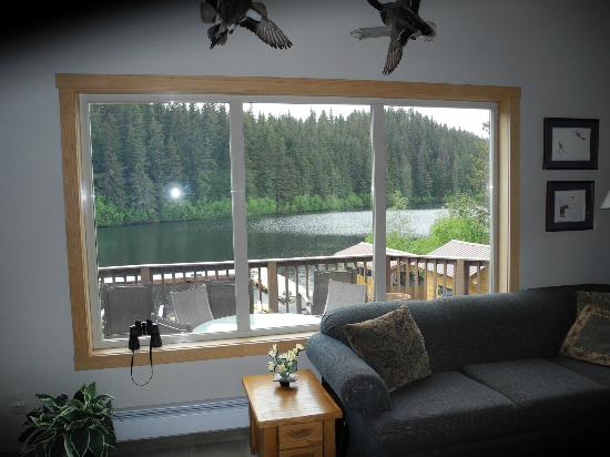 Bear Lake Lodgings B&B : Common area in the house
