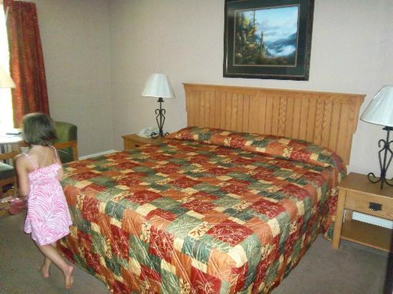 توين ماونتن إن: Bed area 2 