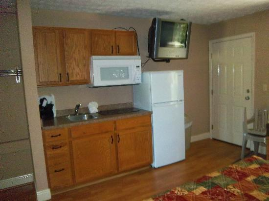 Twin Mountain Inn & Suites: Fridge area