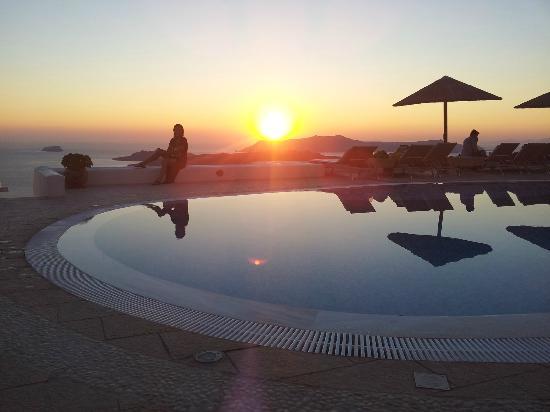 Lilium Villas Santorini: utsikt från rum 103