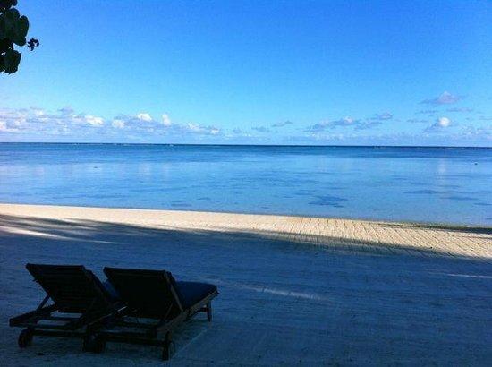 Etu Moana:                   View of the beach                  