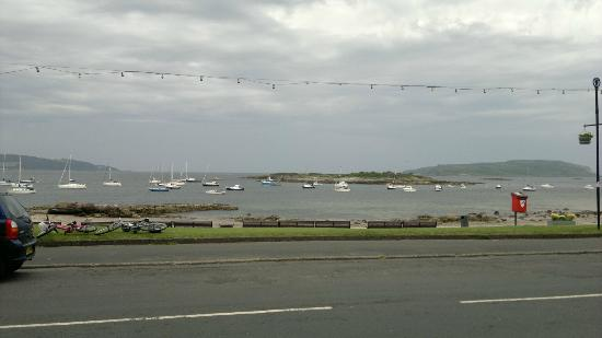 Sea View accross the road from the Dancing Midge Cafe