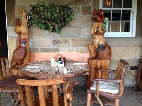 Cross Butts Stables Restaurant: Lovely place, food superb, gardens and grounds beautiful a must to visit.