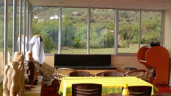 Devi Darshan Lodge: dining area