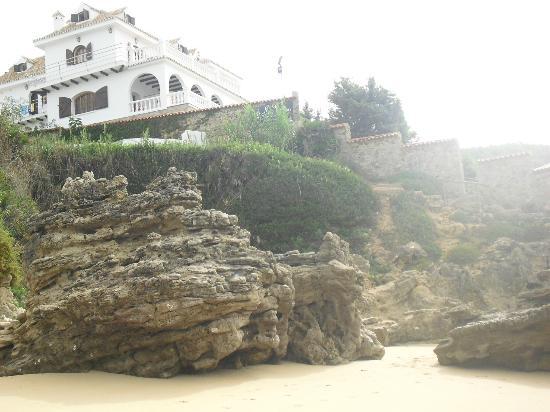 Hotel Mar de Frente: Acceso privado a la playa